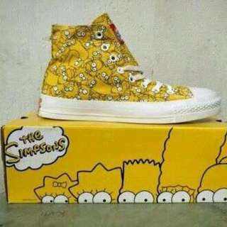 converse edisi limit the simpsons