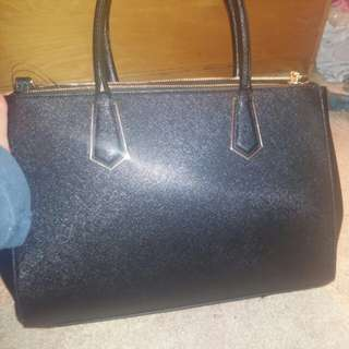 H&M black purse