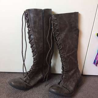 Genuine Leather Amazing Quality Knee-High Boots