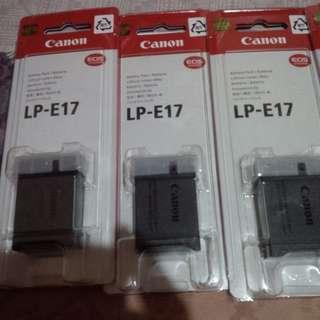 Baterai canon LP-E17 Original 100%