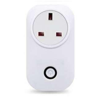Wifi Wireless Remote Control Socket Smart Home Power Socket UK Standard Via App Phone Smart Timer Home Plug