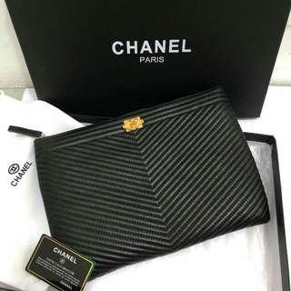 Chanel Chevron O Case
