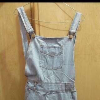 jumpsuit jeans ( TURUN HARGA )