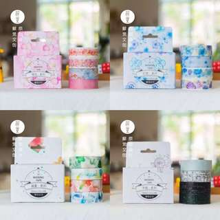 Washi Tape - many sizes and designs