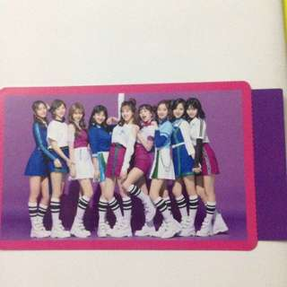 twice japan one more time group photocard official