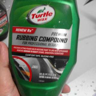 Rubbing Compound Turtle Wax