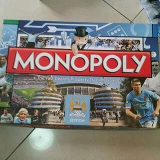 Monopoly manchester city limited edition