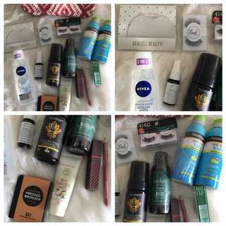 Skincare/Beauty/Health Goodie Bag