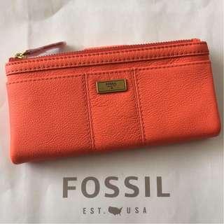 SWL1638826 FOSSIL ELLA CLUTCH LAVA