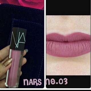 Lipstick NARS (Segel)