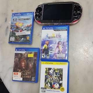 PS Vita plus Games