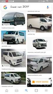 Van and car for rent very cheap price