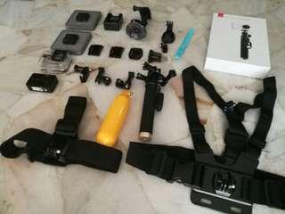 Yicam 4k stabilizer action camera