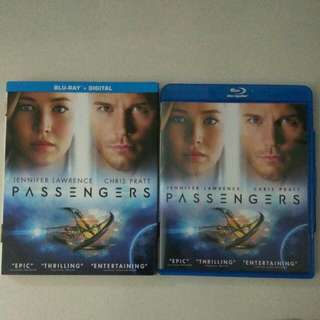 Passengers Blu Ray + Digital