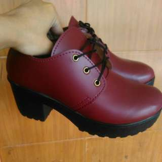 Custom shoes (sepatu semi boots vintage)