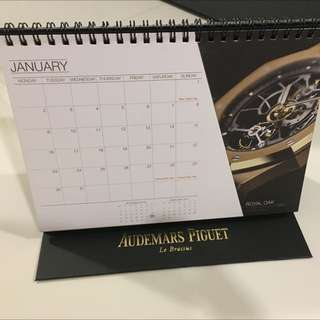 Collectible Audemars Piguet 2017 Calander