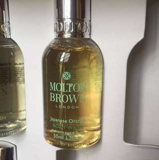 Molton Brown shower gel Japanese Orange