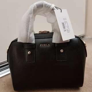 Authentic Furla Allegra Tophandle/Crossbody Black