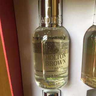 Molton Brown shower gel 50ml  Coco & Sandalwood