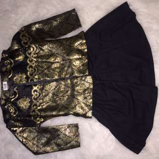outner black and gold