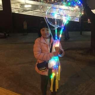 聖誕 新年 裝飾氣球 SparktakeLight