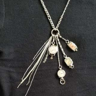 古董手錶頸鏈 Vintage watches necklace