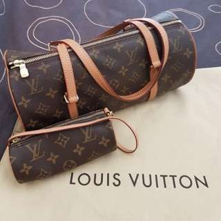 Authentic Louis Vuitton Vintage Medium Papillion (exclude the mini)