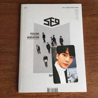 WTS SF9 feeling sensation w rowoon pc