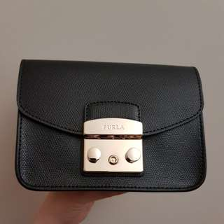 Authentic Furla Metropolis Black