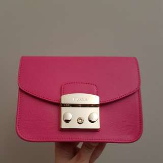 Authentic Furla Metropolis Pinky