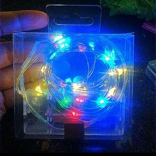FREE! Fairy lights for every 750 pesos purchase