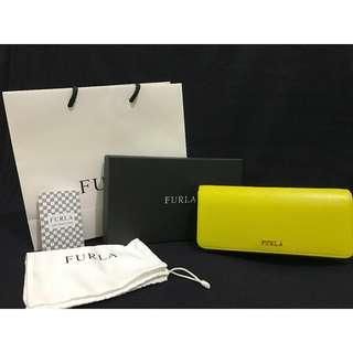 FURLA Babylon Bi-Fold wallet / jade-yellow - We're on SALE!!!