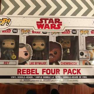 4-piece Star Wars Collectible