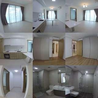 Rent 2 bedroom + study 710 sqft