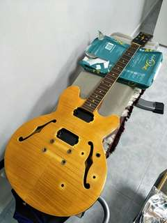 JHS Vintage Semi Hollow (Body only)