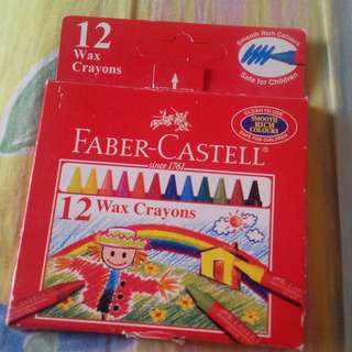 Faber-Castell 12Wax Crayons