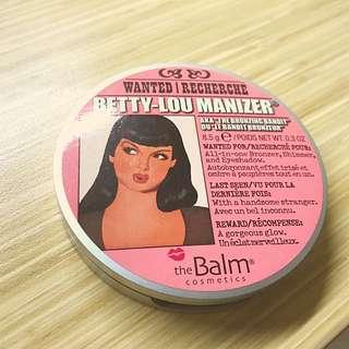 The balm Betty-Lou manizer 打亮 修容