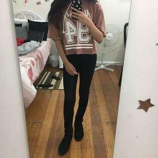 Valleygirl Slightly Cropped Shirt/Hoodie