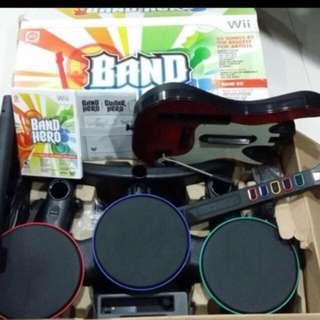Wii Band hero set