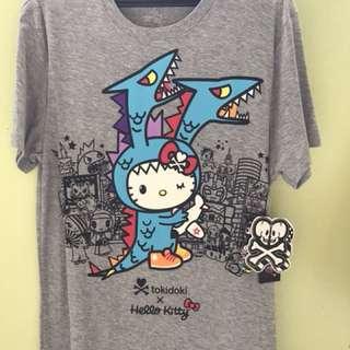 Tokidoki x Hello Kitty T-shirt, Hello Kaiju