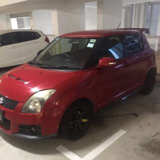 Rent Suzuki swift sport 1.6M