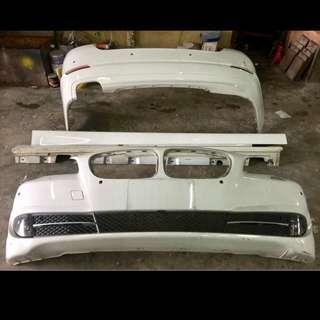BMW F10 Original Front Rear Bumper Side Full Set