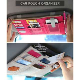 Multipurpose Car Pouch Organizer | 汽车多功能遮阳板