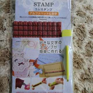 Japan DIY name stamp chop