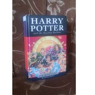 First Edition Harry Potter and the Deathly Hallows