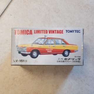 Tomica Limited Vintage Taxi