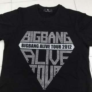 (Limited Edition) BIGBANG OFFICIAL ALIVE TOUR T-Shirt