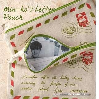 Innisfree Lee Min Ho Letter Pouch