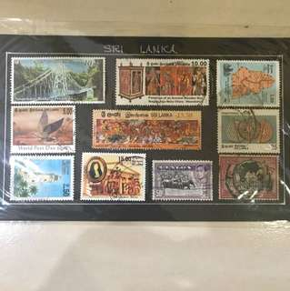 🆕Sri Lanka Stamps Collection