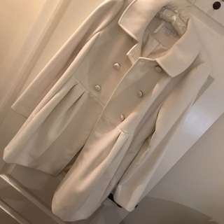Ivory/Cream Coat Forever New RRP $100